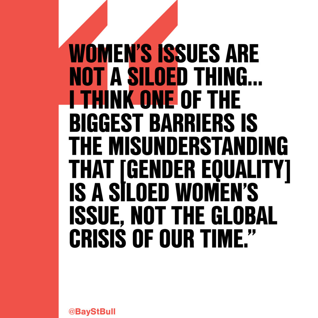 Equality Fund co-founders Jess Tomlin and Jessica Houssian quote