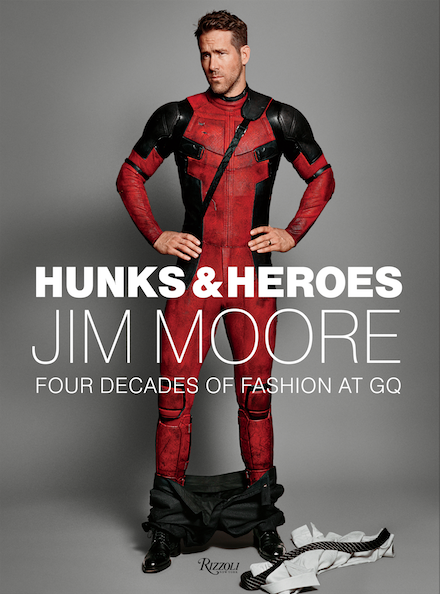 Cover of Jim Moore book, Hunks and Heroes
