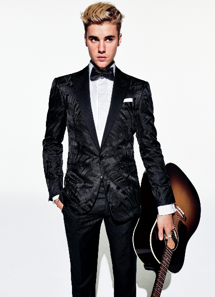 Jim Moore GQ shoot with Justin Bieber
