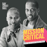 Goodee Founders Byron Dexter Peart with Mission Critical logo
