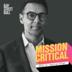 Mission Critical episode art with black and white photo of Kamran Khan