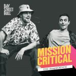 AsapSCIENCE duo in black and white photo with Mission Critical and Bay Street Bull branding