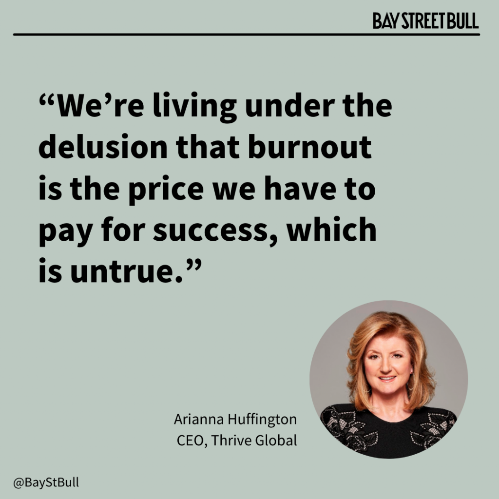 Arianna Huffington Thrive Global quote