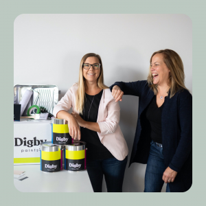 Jill Torrance and Emily Kinread – Co-Founders of Digby Paints