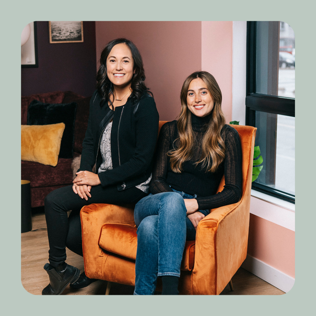 Lauren Lake and Mallorie Brodie – Co-Founders of Bridgit