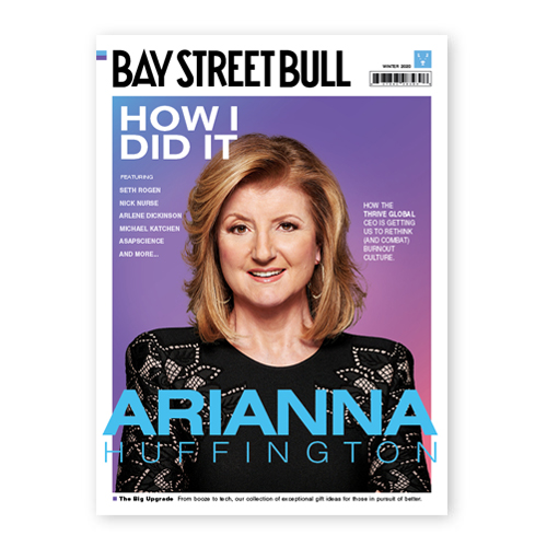 Ariana Huffington Cover