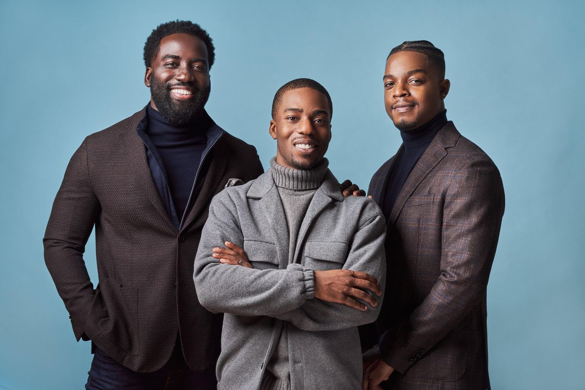 Bay Mills Investment Group founders Shamier Anderson, Sheldon James, Stephan James