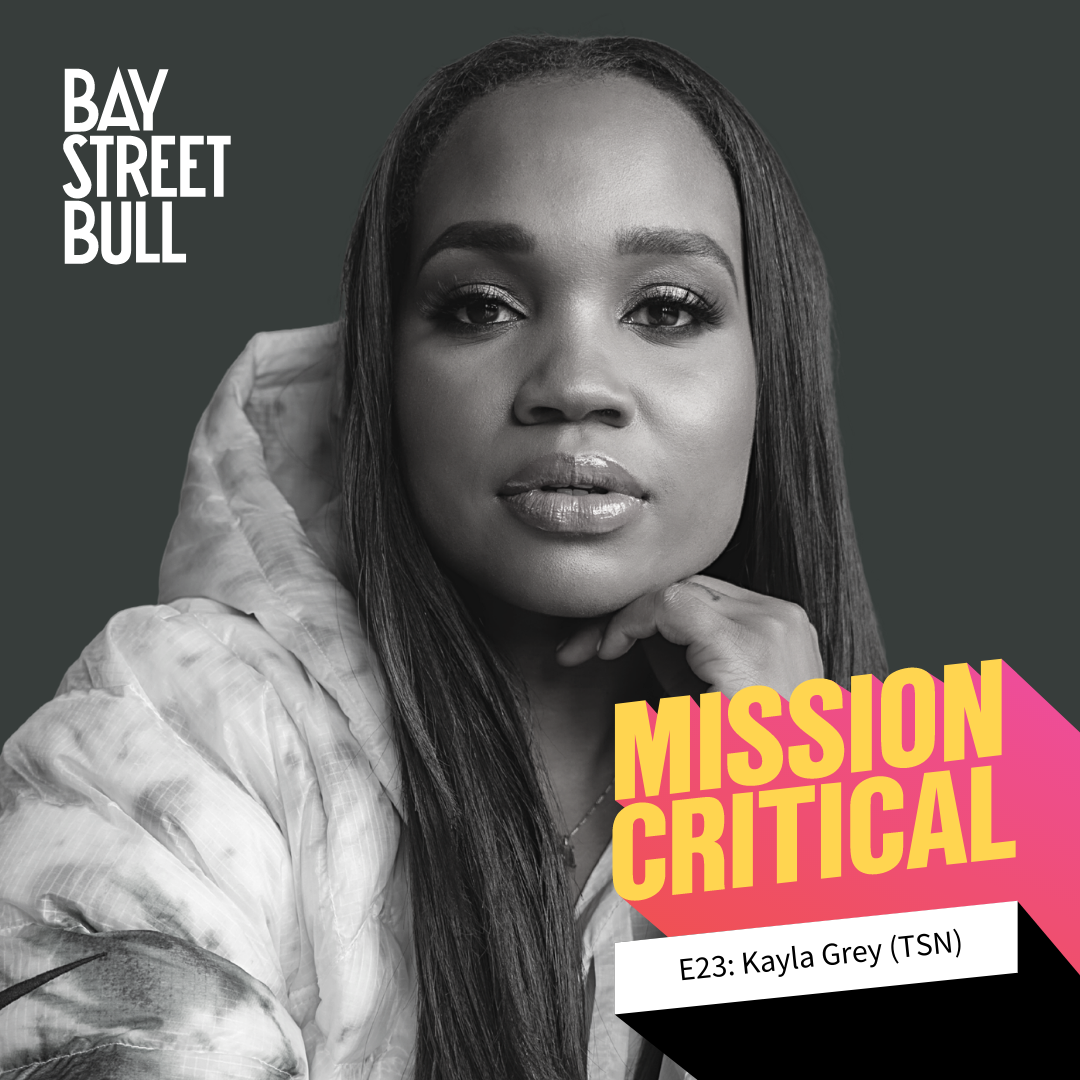 Mission Critical podcast cover art with Kayla Grey